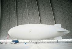 The Choicest Hops #airship #transport #hanger #architecture #blimp