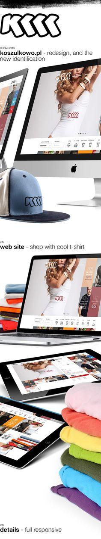 koszulkowo #website #design #web