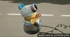 Baby Minion Animated GIF | Movies GIFs - GIFSoup.com #gif #minion