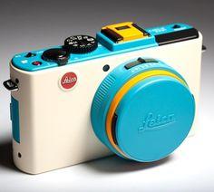 FFFFOUND! | small.jpg (500×450) #camera #cyan #yellow #color #leica