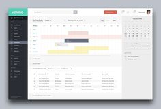 Schedule #schedule #interface