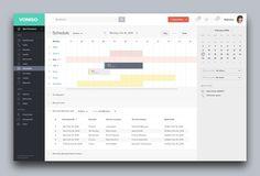 Schedule #schedule #interface