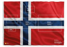 The Flag of Flags, Norwegian #destination #norway #flag #design #norwegian #travel #advertising