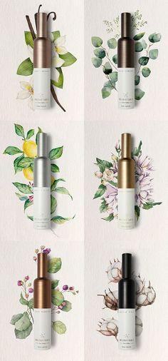 Holiday Table perfume packaging by Eulie Lee / De Yool Studio