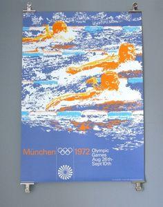 Otl Aicher 1972 Munich Olympics - Posters - Sports Series #1972 #otl aicher #munich olympics