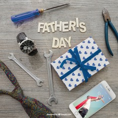 Father's day lettering, smartphone, gift box and tools Free Psd. See more inspiration related to Mockup, Love, Gift, Family, Box, Clock, Gift box, Celebration, Happy, Gift card, Glasses, Smartphone, Present, Mock up, Tools, Watch, Father, Fathers day, Celebrate, Happy family, Lettering, Dad, Parents, Wrench, Up, Day, Lovely, Greeting, Male, Objects, Daddy, Things, Composition, Mock, Fathers, Pliers, June, Masculine, Familiar and Nineteen on Freepik.