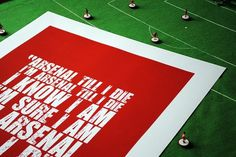 All sizes | arsenal_4 | Flickr - Photo Sharing! #red #arsenal #screenprint #song #poster #chant #football #green