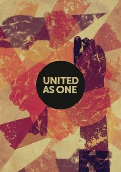 Orange Graphic #united #hands