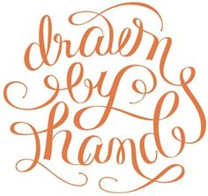 "Typeverything.com - ""Drawn by Hand"" by Camila... - Typeverything #drawn #lettering #hand"