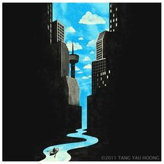 Illusion & Surrealism « Tang Yau Hoong #poster