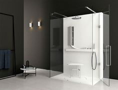 Shower System by Giulio Gianturco - #bath, #bathroom
