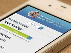 Portal #mockup #user #interface #ui