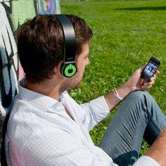 hi-Edo Bluetooth Headphones #tech #flow #gadget #gift #ideas #cool
