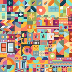 Pattern for Airbnb Hello LA. www.airbnbhellola.com