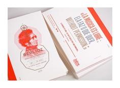 Berlioz Festival, editorial design on Behance