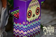 PAPER TOYS SERIE I on Behance #vector #mexico #illustration #quetzal #paper #toy