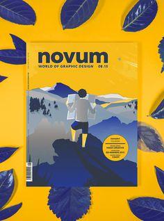 novum, gebrauchsgraphik, cover, magazine, wanderer
