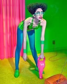Theatrical and Provocative Fashion Photography by Pol Kurucz