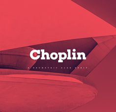 Choplin Free Font | Fontfabric™ #fonts #design #red
