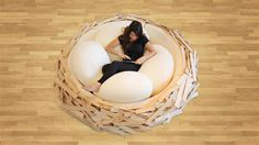 Giant Birdsnest for Creating new ideas OGE Creative Group - www.homeworlddesign.com (2) #ideas #creativity #design #home