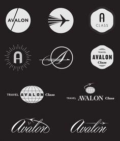 Avalon #logo #identify #badge