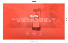 DISCOVER SHADOW #scroll #red #web #parallax