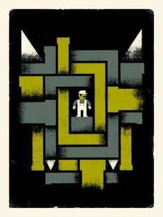 Doublenaut | Blog #doublenaut #illustration #mario #poster