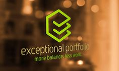 Logo and brand design for new startup company: Exceptional Portfolio