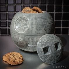 Star Wars Death Star Cookie Jar #star wars #home #kitchen