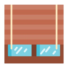 See more icon inspiration related to window, furniture and household, ecology and environment, jaousie, shutters, blinds and decoration on Flaticon.