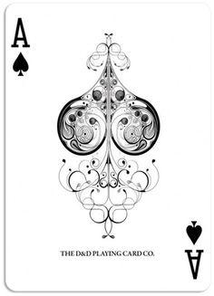 DAN & DAVE // Ace of Spades #illustration #art #floral