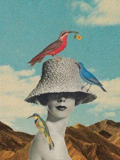 Birdland Art Print by Sammy Slabbinck | Society6