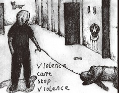 Violence Can't Stop Violence #hebingsong