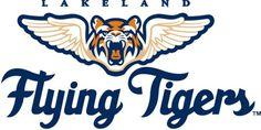 Lakeland Flying Tigers Logo - Chris Creamer's Sports Logos Page - SportsLogos.Net #baseball #sports #tigers #logos