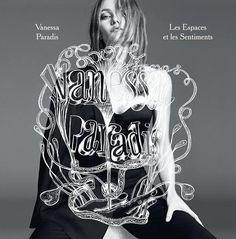 Vanessa Paradis, photographed by Karim Sadli and art by M/M (Paris) for her album Les Espaces & Les Sentiments, June 2013. (click the image
