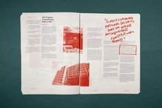 Spare change news #layout #editorial #typography