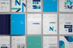 Nickel Labs Logo Brand Guidelines by Javier Garcia