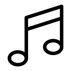 See more icon inspiration related to music, song, quaver, music player and musical note on Flaticon.