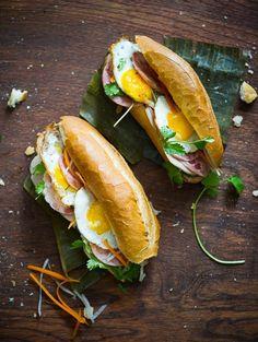 """Vietnamese Bánh Mì  The """"Bang Me""""' Fried Egg Recipe"""