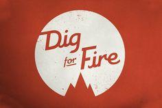 Kelli Anderson: Identity Design #logo #digforfire