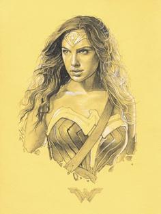 Wonder Woman – ORIGINAL DRAWINGS by Grzegorz Domaradzki