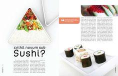 revista-4_440.jpg (440×284) #food #sushi #grid #layout #shcool #editorial #magazine