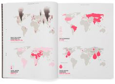 Livable Cities - Philips Design Probes #water #pink #infographic #design #graphic #map #layout