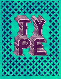 (11) Tumblr #type #lettering #pattern