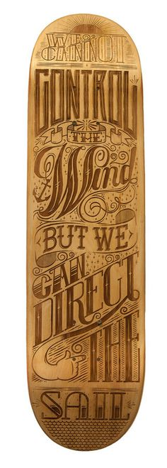 bingo! #skateboard #wood #typography