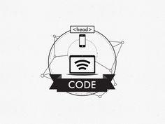 Icon Design on Behance #computer #joinerandtuft #icon #design #head #code #mobile #fabiomarangoni