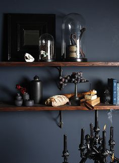 MicheleVarian_cheeseshelf_DS #interior #design #decor #deco #dark #decoration