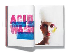 Plastique Magazine: Issue 4 Â« Studio8 Design #typohgraphy #layout #editorial #magazine