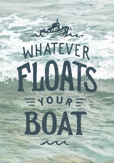 It #ocean #lettering #water #design #graphic #boat #blue #typography