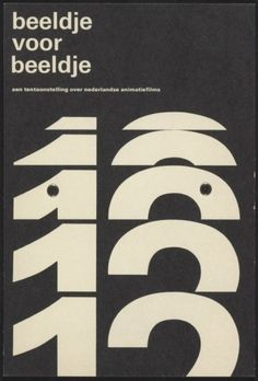 Wim Crouwel Poster Archive